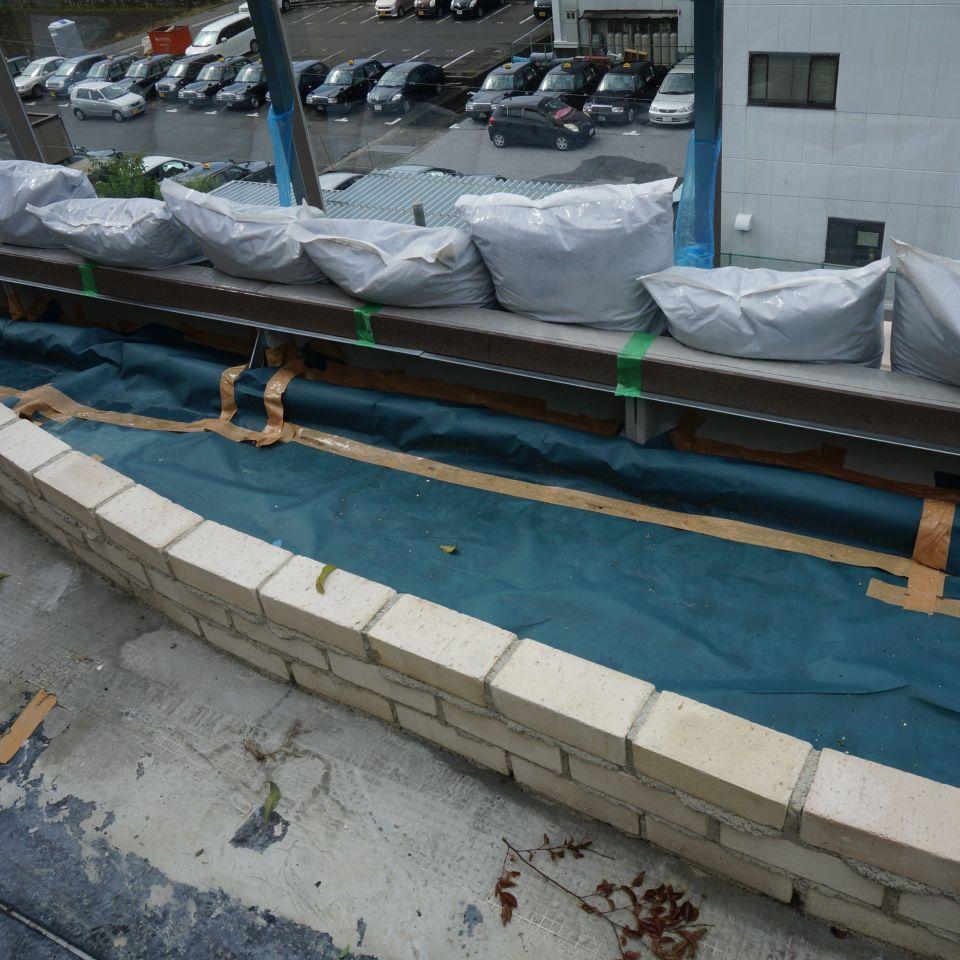 屋上用ルーピング防止透水シート